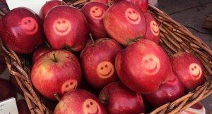 Emblem på epler