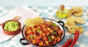 Chili con carne uten kjøtt