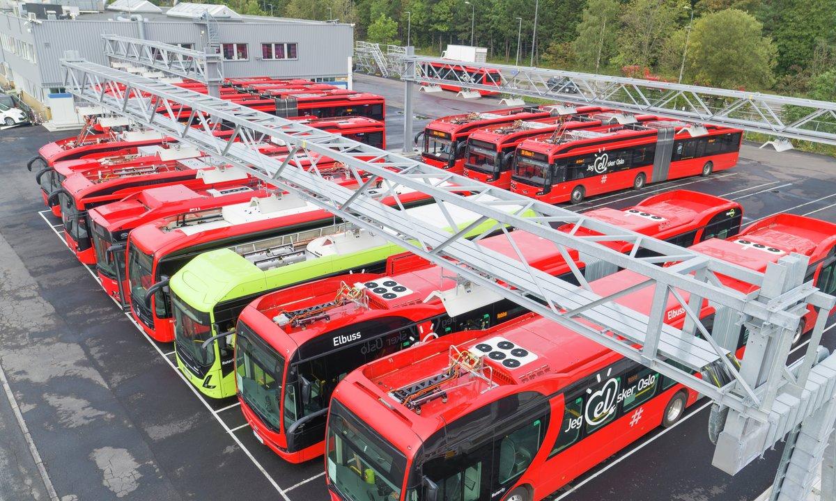Oslo kan snart få 100 nye elektriske busser