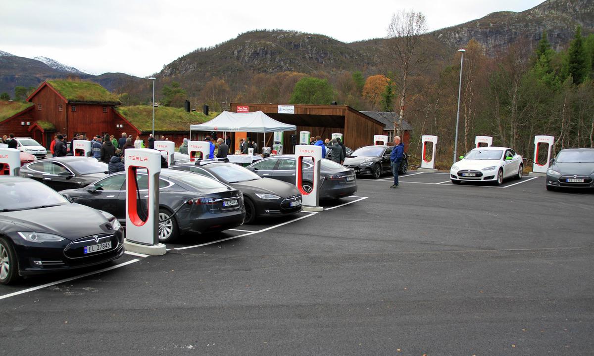 Nye ladestasjoner i Trysil og Hemsedal | Dfly