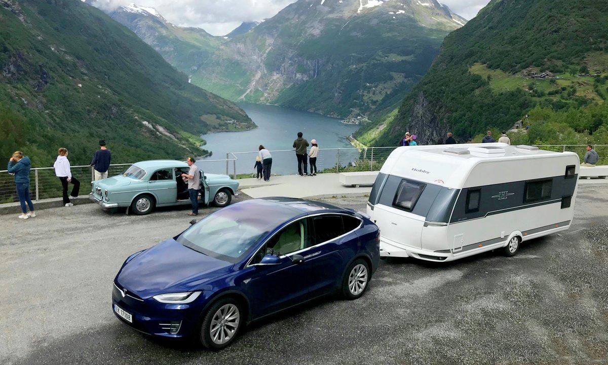 Her er elbilene som kan ha tilhengerfeste og skiboks