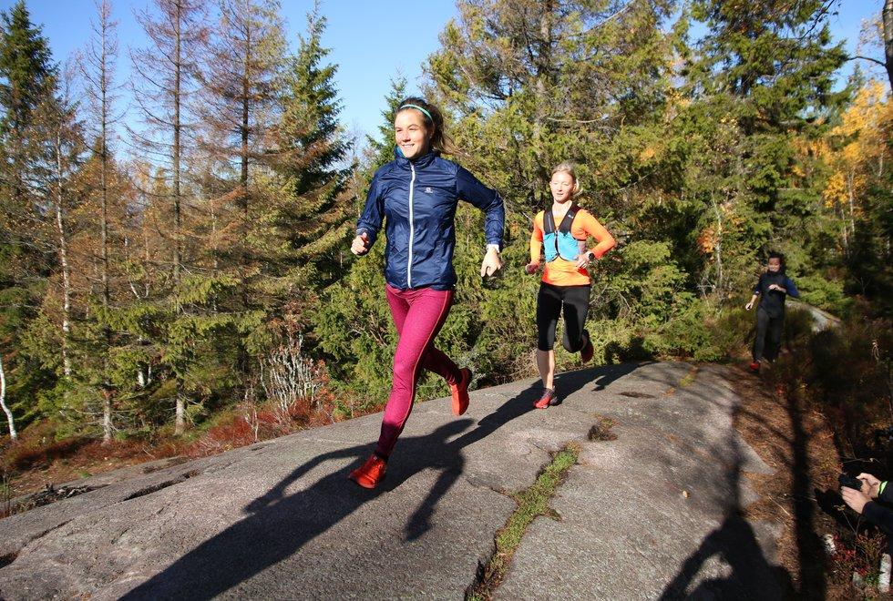 Terrengløping med Emelie Forsberg Barlindåsen 2018